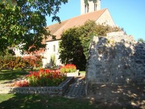 église St Vivien - bruyeres sur oise