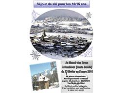 Séjour ski vignette-Bruyères sur Oise