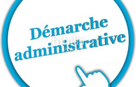 demarche administrative