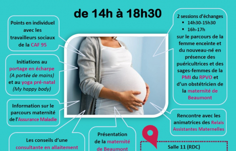 Atelier Je prépare l'arrivée de mon enfant 05 04 2019