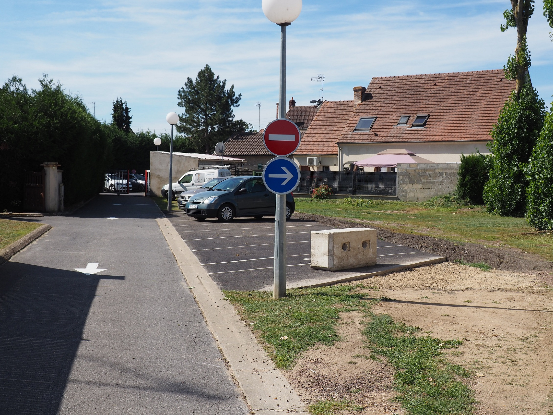Aménagement-parking-mairie